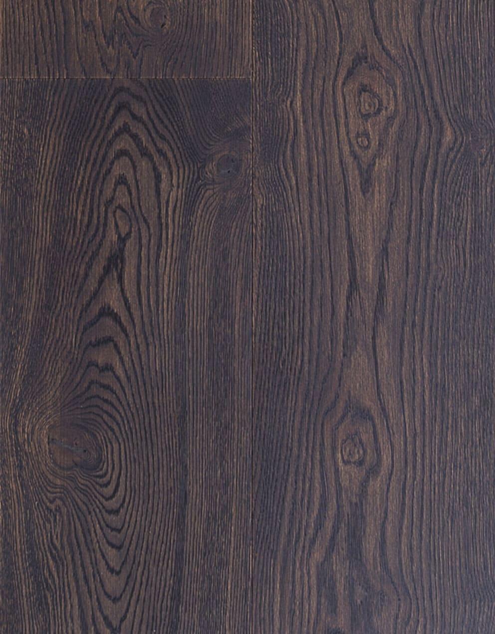 Suelo de madera de Roble color oscuro